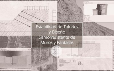 Curso en Estabilidad de Taludes y Diseño Sismorresistente de Muros y Pantallas