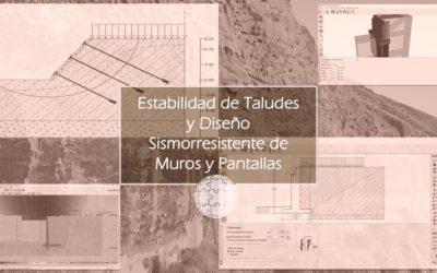 Estabilidad de Taludes y Diseño Sismorresistente de Muros y Pantallas
