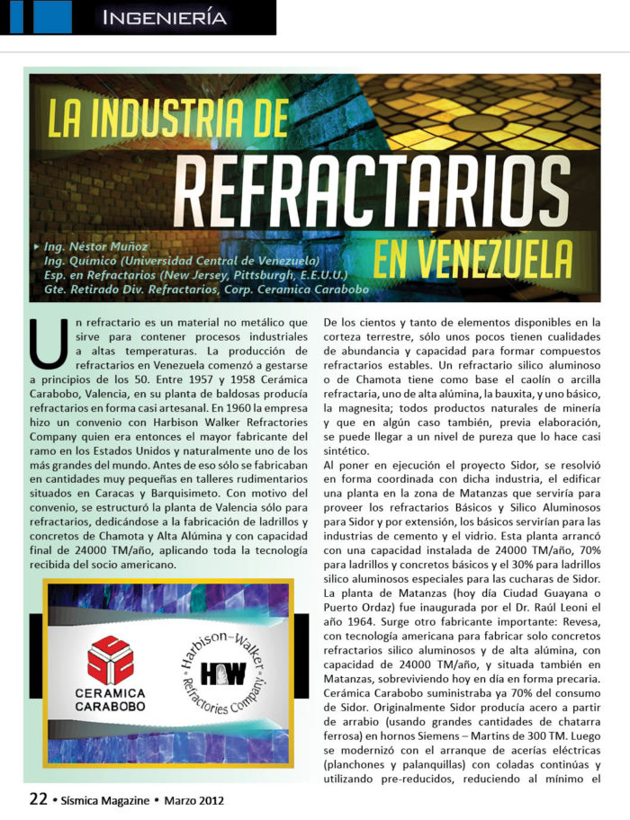 Industria-de-Refractarios-Venezuela